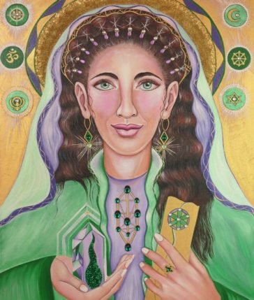 Lady Sara Art Print