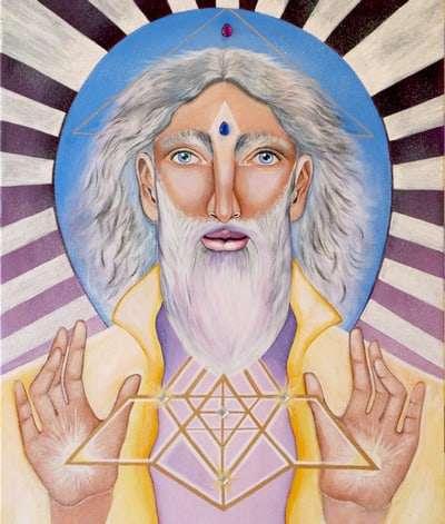 Lord Melchizedek Art Print