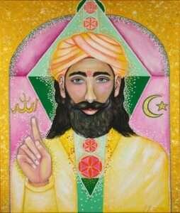 Painting of Muhammad