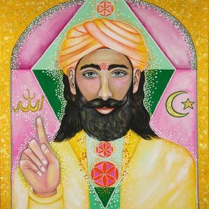 Painting of Muhammad